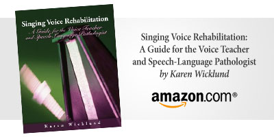 Singing Voice Rehabilitation